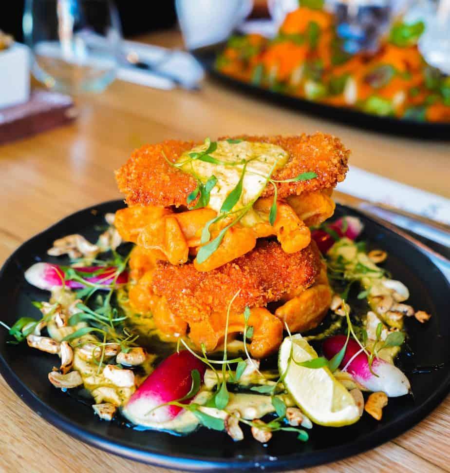 Brunch samedi et dimanche - Chicken n Waffles ou POULET et GRAUFRES du India Rosa