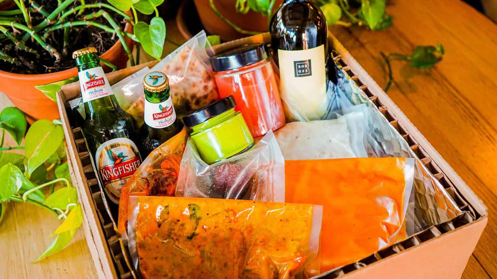 Boîte-Repas Table d'Hôte du Temps des Fêtes du restaurant indien India Rosa